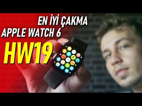 Yeni Çakma Apple Watch 6 Saatimi İnceledim /HW19 En İyi Replika