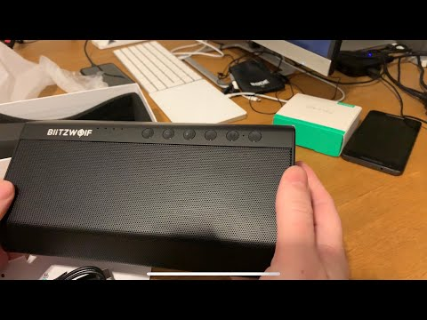 , title : 'BlitzWolf BW-AS2 40W Wireless Bluetooth Speaker from Banggood - unboxing and hands-on'
