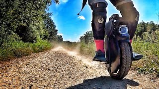 Speedy Trail Ride - InMotion V11 Electric Unicycle with Air Suspension - FPV Ride Music Video