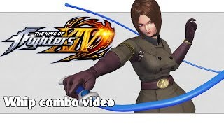 KoF XIV: Whip combo video (ver. 2.01)