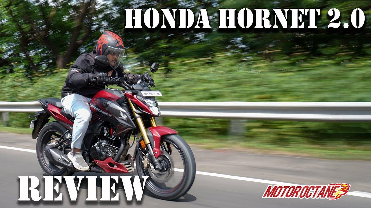 Motoroctane Youtube Video - Honda Hornet 2.0 Review - Price, Mileage, Performance, Features   Hindi   MotorOctane