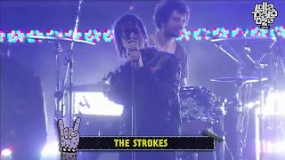 The Strokes - Automatic Stop @Lollapalooza Argentina 2017