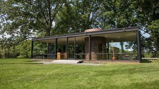 An Inside Look At Philip Johnsons Glass House In New Canaan, Connecticut