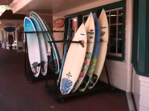 Video Kona Inn Shopping Village has great surf shops, restaurants and souvenirs