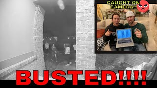 CAUGHT SNEAKING GIRLS INTO MY HOUSE!
