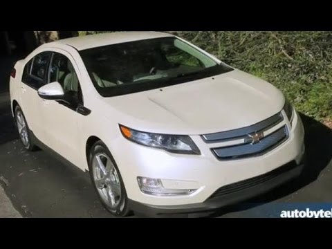 2014 Chevy Volt Test Drive & Plug-In Hybrid Car Video Review