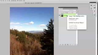 Photoshop Tutorial - How To Unlock A Layer (Beginners)