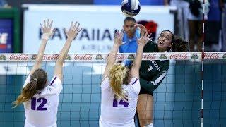Rainbow Wahine Volleyball 2018 - Hawaii Vs Portland