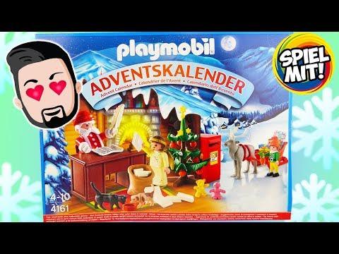 """Adventskalender Playmobil """"Weihnachts-Postamt"""" - Alle 24 Türchen öffnen! WEIHNACHTSMANN IM STRESS!"""