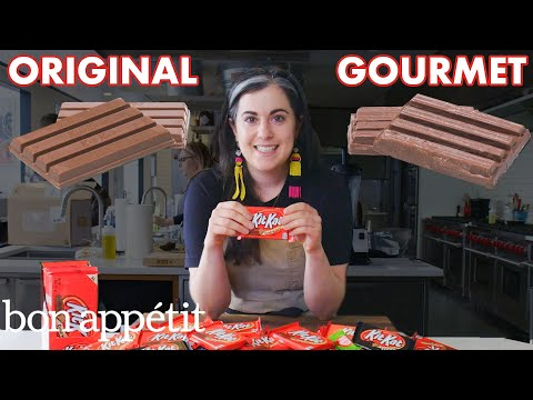 Download Pastry Chef Attempts To Make Gourmet Kit Kats | Gourmet Makes | Bon Appétit HD Mp4 3GP Video and MP3