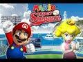 Mario Super Sluggers Mario Vs Peach