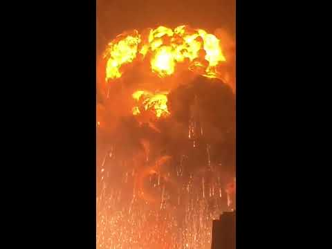 After 25 years of browsing the internet, this is still the craziest video I've seen. Tianjin Explosion, August 12, 2015.
