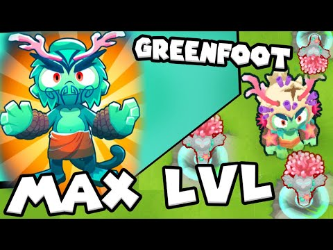 Bloons TD 6 - Obyn Greenfoot - Max Level Forest Hero | JeromeASF