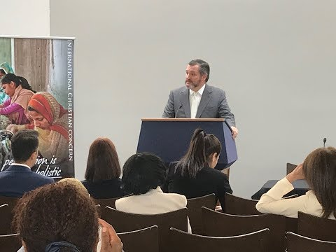Sen. Cruz Delivers Remarks on Religious Freedom at the ICC's 2019 Policy Day