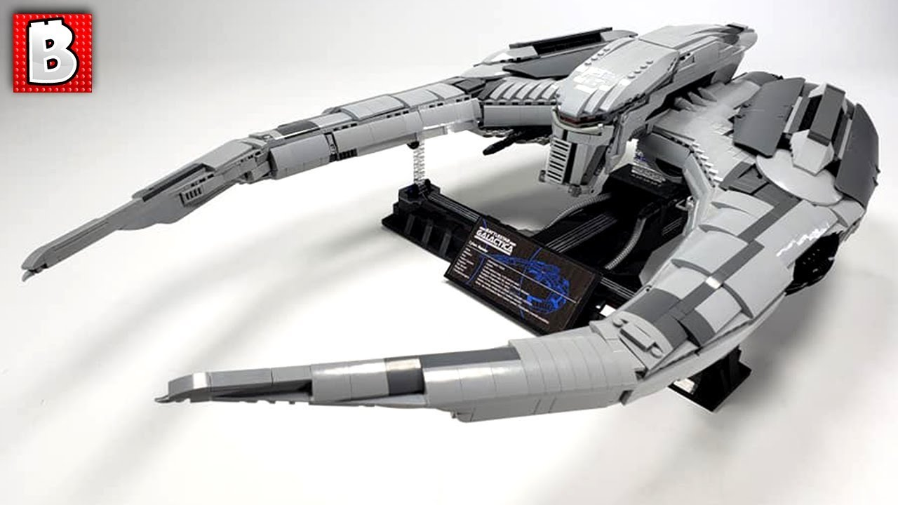 Cylon Raider UCS LEGO Model ABSOLUTE BEAST