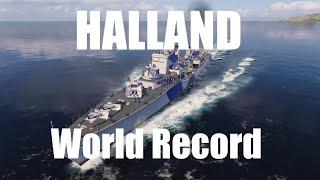 Halland - Damage World Record