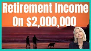 Retirement Income From 2 Million Dollars: Stocks Vs Alternative Assets