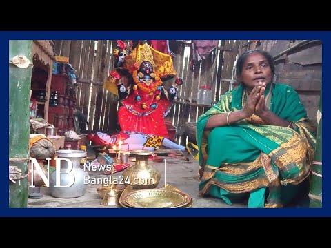 নিজ থেকেই কালী মূর্তি 'হাজির'