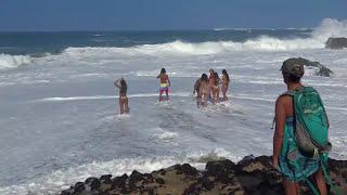 Die besten 100 Videos Monster Wellen auf Hawaii