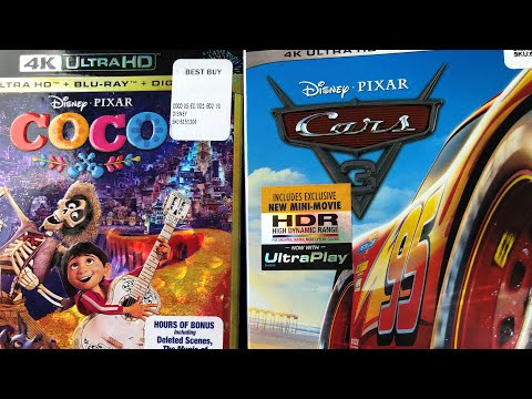 Coco & Cars 3 : Disney's 4K HDR - My Two Picks
