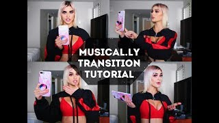 Musical.ly Transition Tutorial || Kristen Hancher