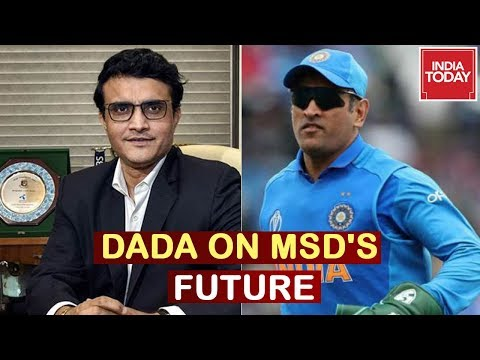 Sourav Ganguly On MS Dhoni's Future After Taking Over As BCCI President