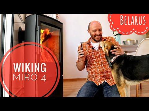 Печь-камин Wiking Miro 4. Печь в современном доме. Для отопления и для души