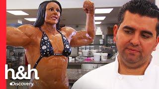 Buddy tiene miedo de ofender a clienta por el pastel que le preparó | Cake Boss | Discovery H&H