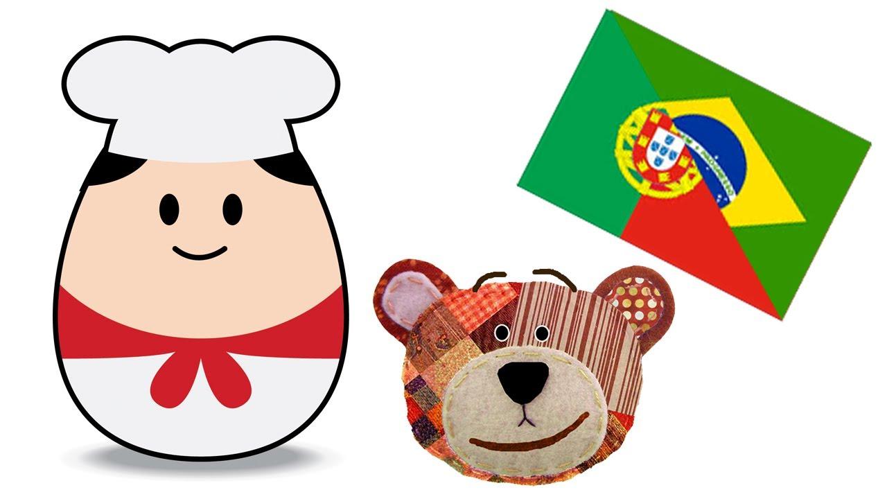 Las profesiones - Vocabulario infantil en portugués