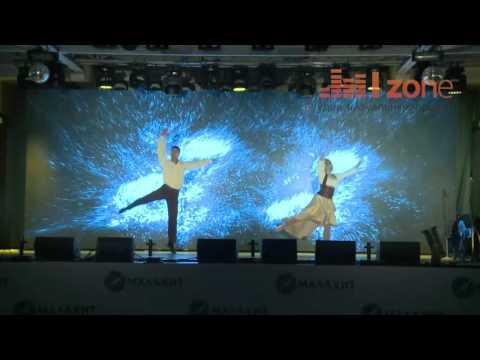 """Мультимедийный интерактивный танцевальный номер """"Мы летаем""""."""