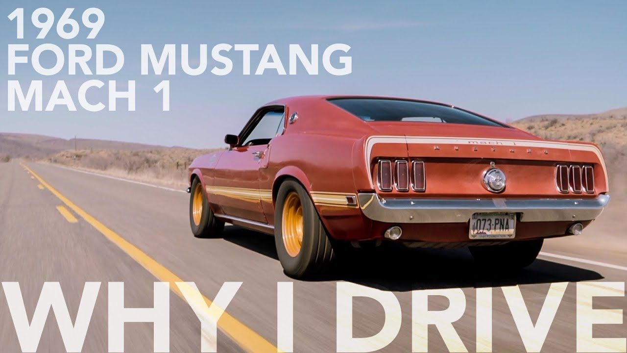 This special 1969 Ford Mustang Mach 1 bonds father and son