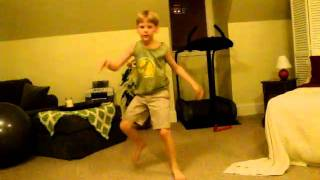 My Little Brother's Numchuck Dance (2)
