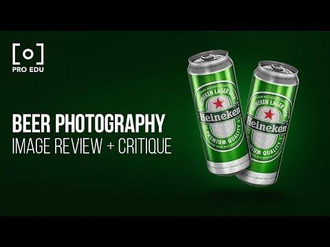 Beer Photography Portfolio Review & Critique with Rob Grimm