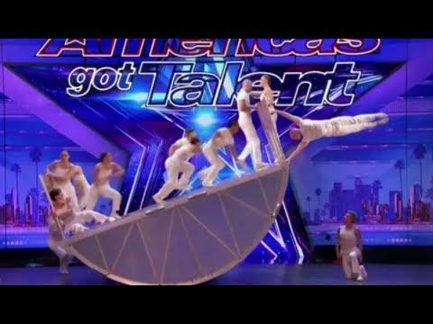 Diavolo: Danger & Acrobatic Group DEFY Human Nature | Auditions 2 | America's Got Talent 2017