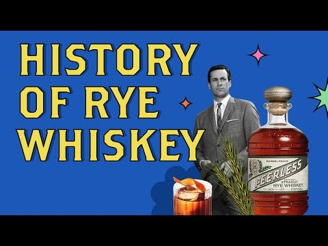 A Brief History of Rye Whiskey