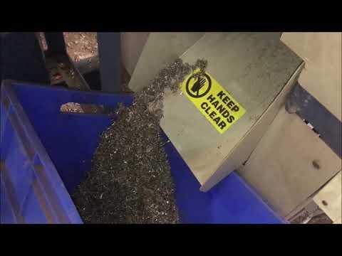 Metal Swarf Shredder