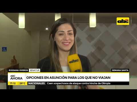 Opciones en Asunción para los que no viajan en Semana Santa