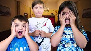 THE KIDS watch a SCARY MOVIE!!!