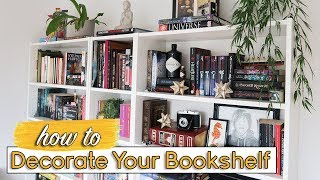 How To Decorate & Personalize Your Bookshelf
