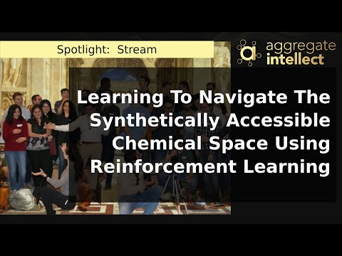Learning To Navigate The Synthetically Accessible Chemical Space Using Reinforcement Learning