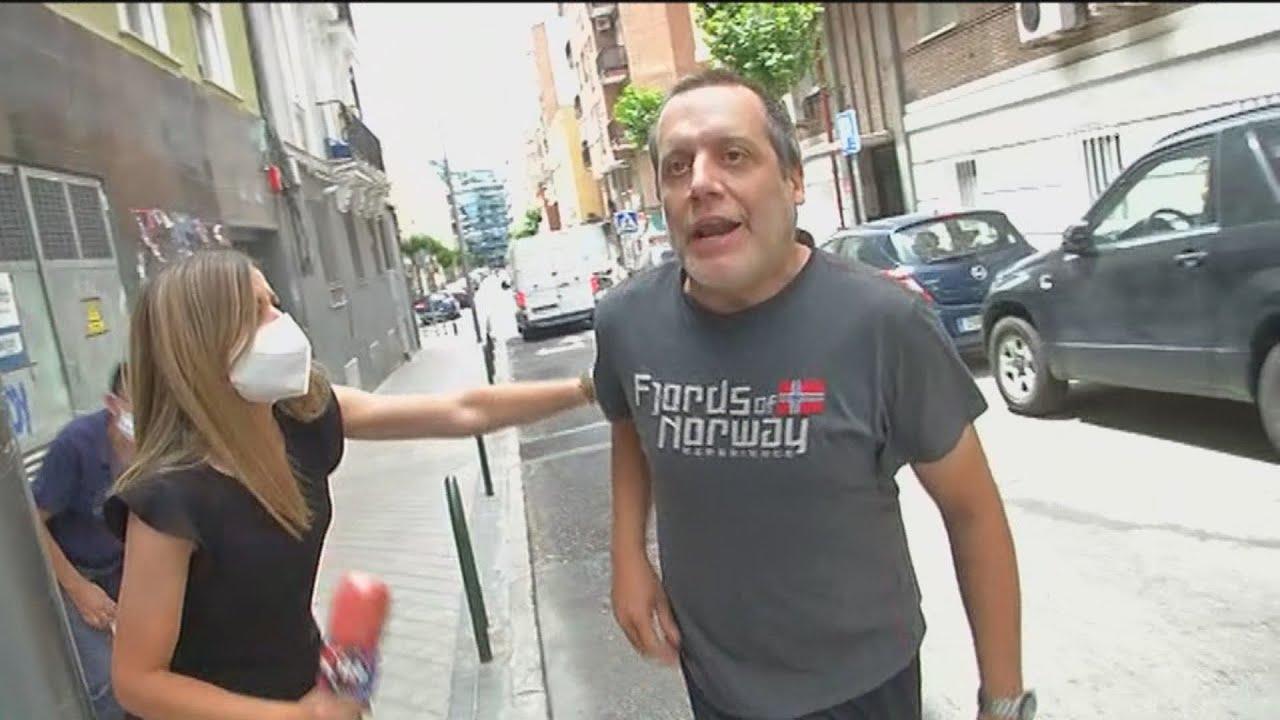 Brutal agressió contra un càmera de Telemadrid