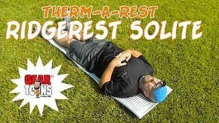 Therm-A-Rest Ridgerest SOLite: The Good, The Bad & The Ugly