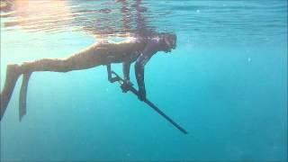 Spearfishing near Split Croatia