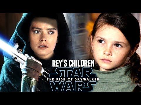 Rey's Children In The Rise Of Skywalker! Leaked Hints (Star Wars Episode 9)