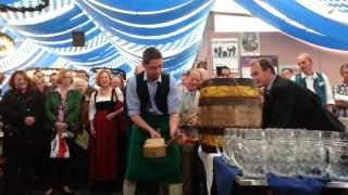 preview picture of video 'Anstich 62. Lohhofer Volksfest 2013'