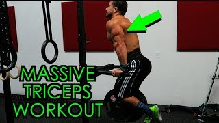 Advanced MASSIVE Triceps Workout | Size AND Strength! by Anabolic Aliens