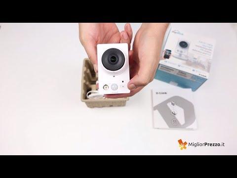 Telecamera di sorveglianza D-Link DCS-2230L Video Recensione