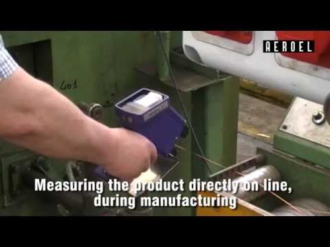 <strong>HWS.1 - Handy Wire Scanner</strong><br />Portable Measurement of copper wire