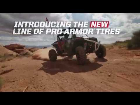 Pro Armor® Wheel & Tire Set: Buckle & Sand, Matte Black, 30R14 - Image 1 of 9 - Product Video