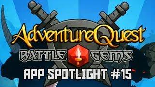 App Spotlight #15 - Battle Gems: AdventureQuest & More Cool Apps!